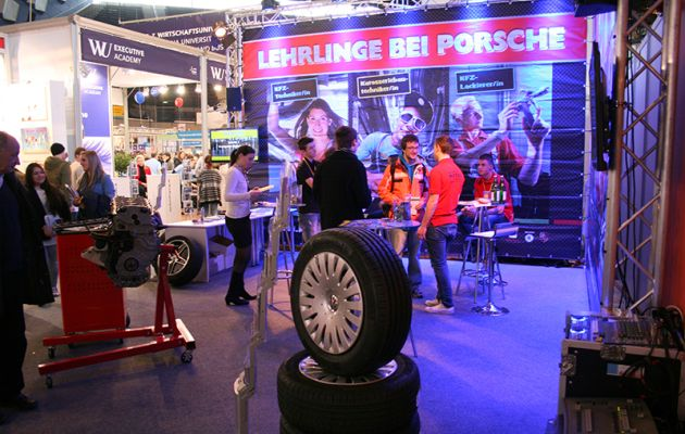 BeSt-Messestand Porsche